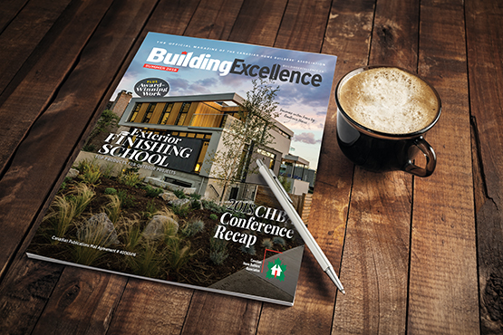 CHBA Building Excellence Magazine