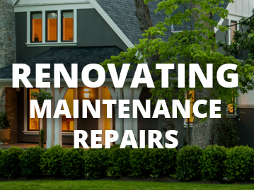 Renovating Maintenance Repairs