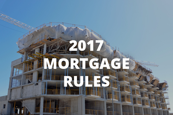 2017 Mortgage Rules
