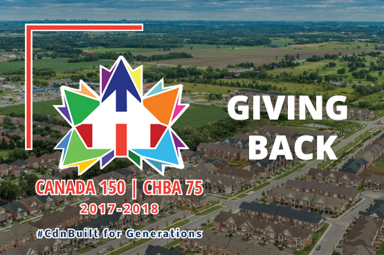 Giving Back - Cabada 150 | CHBA 75