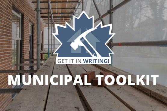 Get it in Writing! Municipal Toolkit