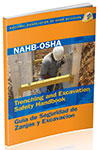 Book Cover NAHB-OSHA Trenching & Excavation Safety Handbook, English-Spanish
