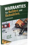 Book Cover Warranties for Builders and Remodelers, 2nd Edition