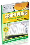Book Cover Schedule for Home Builders with Microsoft® Project