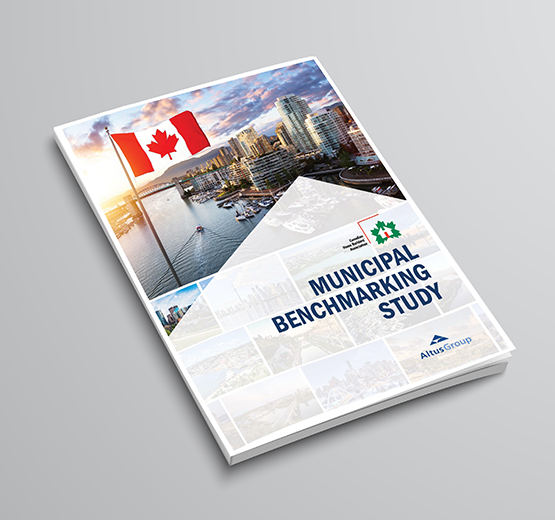 Municipal Benchmarking Study Report Cover