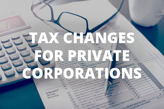 Tax Planning for Private Corporations