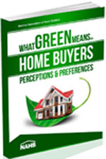 Book Cover What Green Means to Home Builders: Perceptions & Preferences