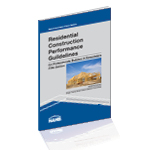 Book Cover Residential Construction Performance Guidelines, Contractor Reference