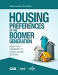 Book Cover Housing Preferences of the Boomer Generation: How They Compare to Other Home Buyers